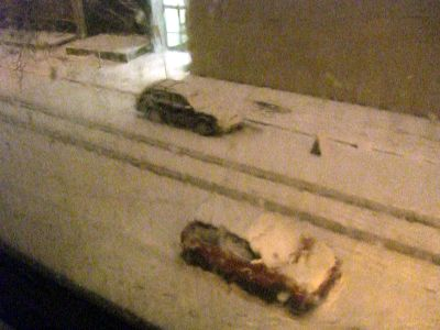 10 cm of snow in Montreal tonight