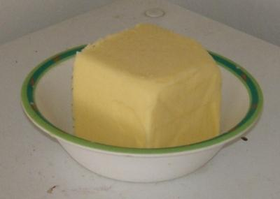 A cup of softened butter.