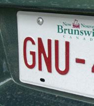 GNU car