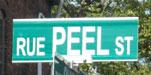 Rue Peel Street