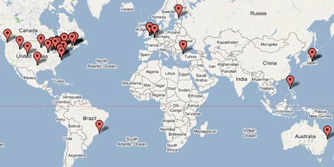 Recent visitors to Booberfish. Click to see full size.